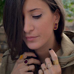 Δαχτυλίδι 'Pulga Redonda'-2443