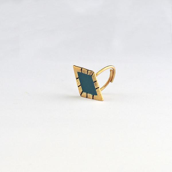 Δαχτυλίδι 'Arco Iris Cuadrado'